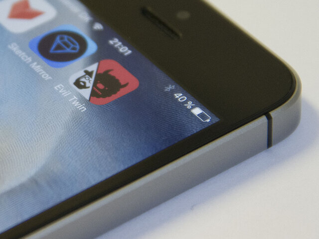 Close Up of Evil Twin App Icon