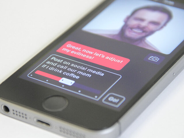 Close Up of Conversational Interface