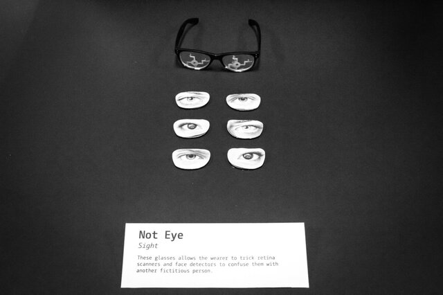 Not-Eye-Glasses Prop