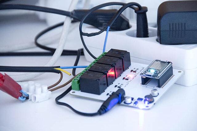 Widow Farm Spark.io Electronics